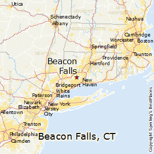 Beacon_Falls,Connecticut Map
