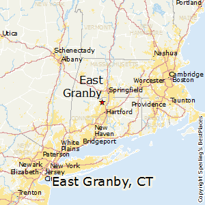 East_Granby,Connecticut Map