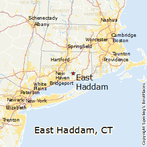 East_Haddam,Connecticut Map
