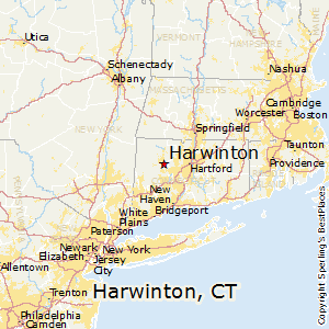 Harwinton,Connecticut Map