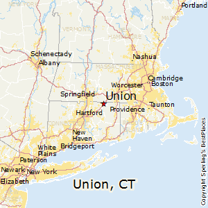 Union,Connecticut Map