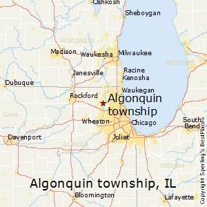 Algonquin Illinois Map.Best Places To Live In Algonquin Township Illinois