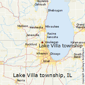 map of lake villa il Best Places To Live In Lake Villa Township Illinois map of lake villa il