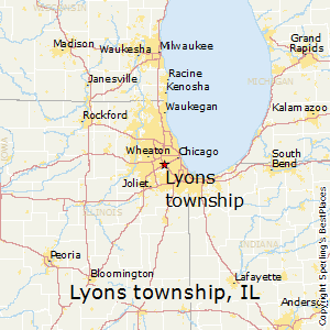 Lyons Illinois Map.Best Places To Live In Lyons Township Illinois