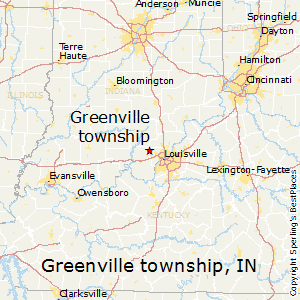 Greenville_township,Indiana Map