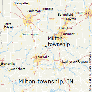 Milton_township,Indiana Map
