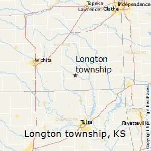 Longton_township,Kansas Map