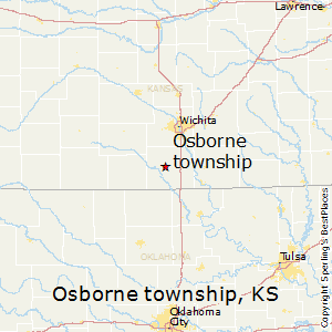 Osborne_township,Kansas Map