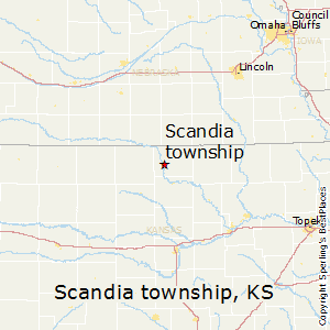Scandia_township,Kansas Map
