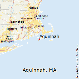 Aquinnah,Massachusetts Map