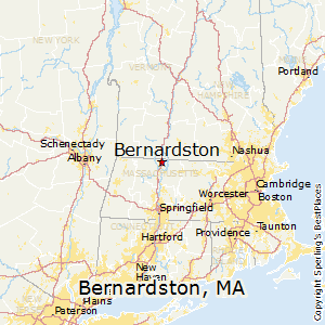 Bernardston,Massachusetts Map