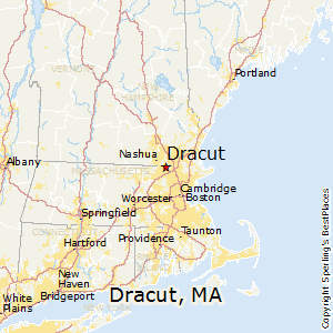 Dracut,Massachusetts Map