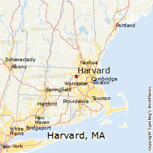 Harvard,Massachusetts Map