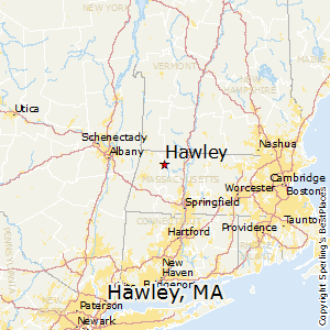 Hawley,Massachusetts Map