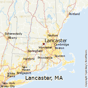 Lancaster,Massachusetts Map