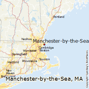 Manchester-by-the-Sea,Massachusetts Map