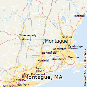 Montague,Massachusetts Map