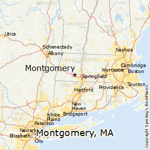 Montgomery,Massachusetts Map