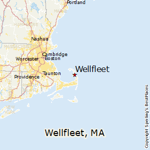 Wellfleet,Massachusetts Map
