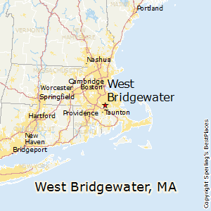 West_Bridgewater,Massachusetts Map
