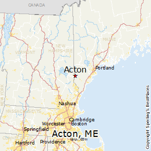 Best Places To Live In Acton Maine