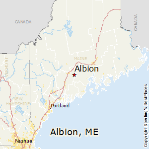 Comparison: Hermon, Maine   Albion, Maine