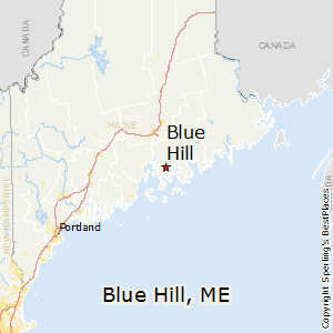 Best Places To Live In Blue Hill Maine - Maine cities map