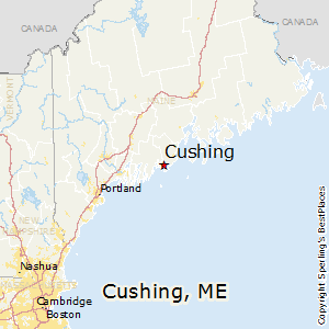cushing maine map Best Places to Live in Cushing, Maine
