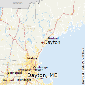 Comparison: Dayton, Maine   Buxton, Maine