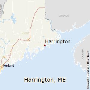 Harrington Maine Map.Best Places To Live In Harrington Maine