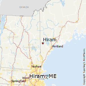 Hiram Maine Map.Best Places To Live In Hiram Maine