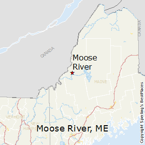 Moose_River,Maine Map