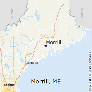 Morrill,Maine Map