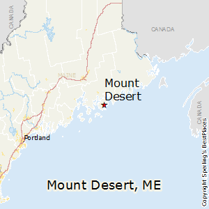 Mount_Desert,Maine Map