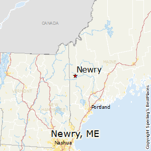 Newry,Maine Map