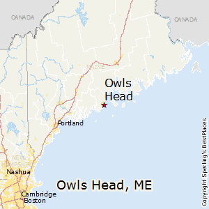 Owls_Head,Maine Map