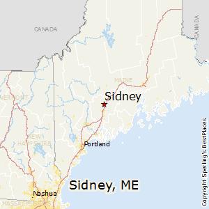 Comparison: Sidney, Maine   Portland, Maine