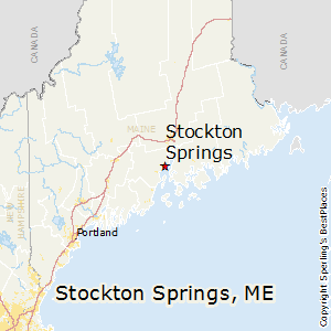 Stockton_Springs,Maine Map