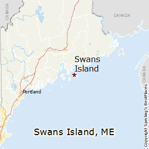 Swans_Island,Maine Map