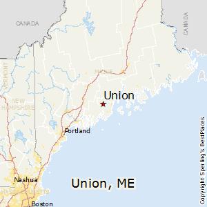Comparison Union Maine Acton Maine