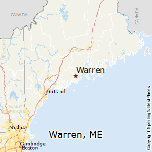 Comparison: Warren, Maine - Searsmont, Maine