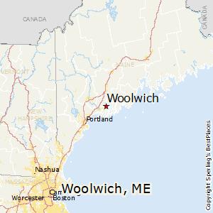 Comparison: Woolwich, Maine   Chicago, Illinois