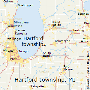 Hartford_township,Michigan Map