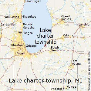 Lake_charter_township,Michigan Map
