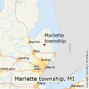Marlette_township,Michigan Map