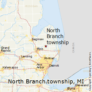 North_Branch_township,Michigan Map