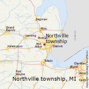 Northville_township,Michigan Map