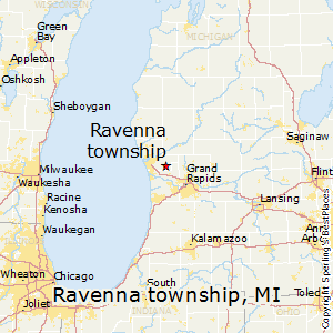 Ravenna_township,Michigan Map