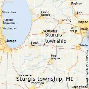 Sturgis_township,Michigan Map