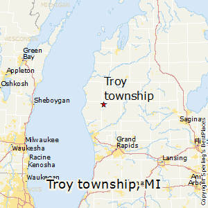 Troy_township,Michigan Map